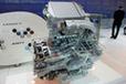 スバル ディーゼルエンジンのカットモデル