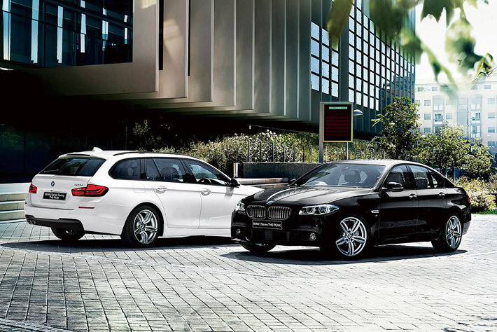BMW 5シリーズ'THE PEAK'