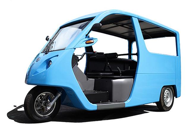 電気自動車「68VM」(BEMAC Electric Transportation Philippines Inc.製)