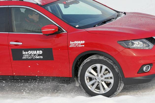SUV用スタッドレスを雪上テスト! ヨコハマタイヤ[ice GUARD SUV G075] 試乗レポート