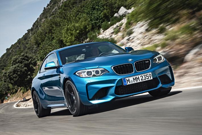 BMW M2クーペ(欧州仕様)