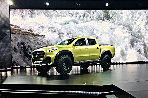 Mercedes-Benz Concept X-CLASS(メルセデス・ベンツ コンセプトXクラス)