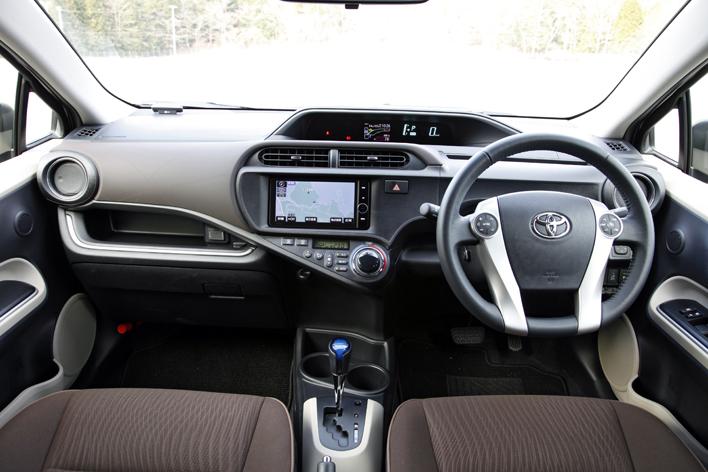 トヨタ アクア/2013年11月 一部改良モデル