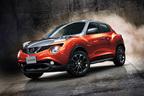 日産ジュークの特別仕様車ドレスアップにオレンジとグレーの2トーンカラーを追加