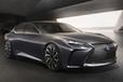 ついにレクサス新型LSはミラーレス車で登場!ドアミラーはオプション設定