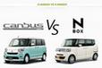 ダイハツ ムーヴキャンバス vs ホンダ N-BOX どっちが買い!?徹底比較