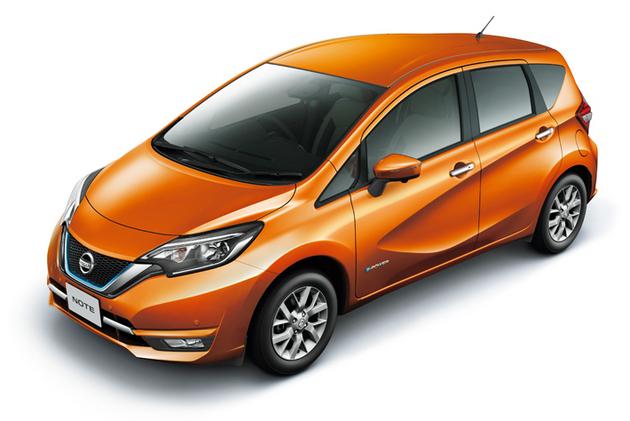 日産 新型ノート e-POWER/ボディカラー:プレミアムコロナオレンジ(特別塗装色)