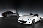 マツダ、ロードスターをベースにした白と黒のコンセプトカー2台を公開