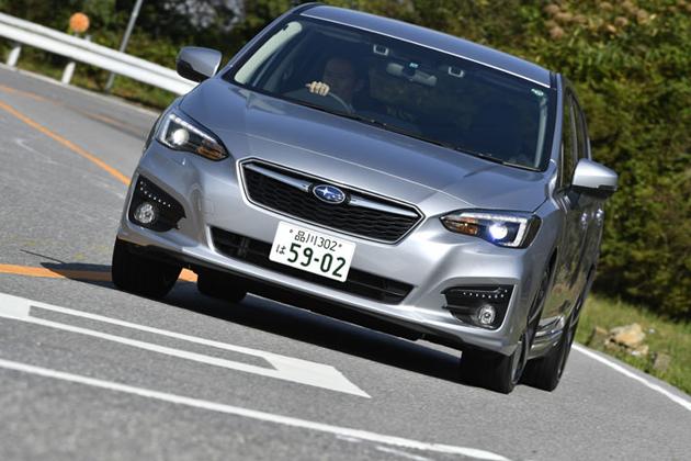 スバル 新型インプレッサスポーツ 2.0i-S 実燃費レポート