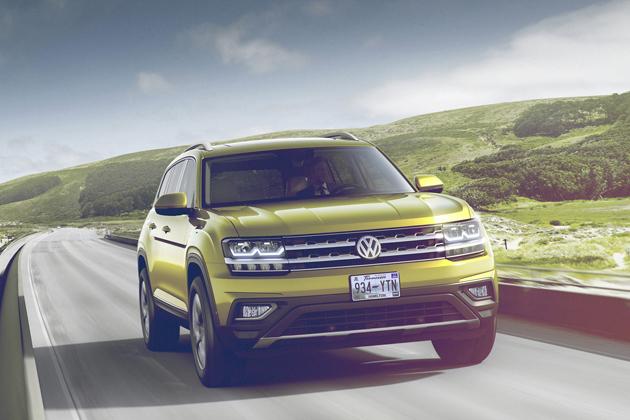 北米向け7人乗りSUV、VW新型アトラス北米向け7人乗りSUV、VW新型アトラス