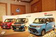 ミニバン要素たっぷりの新型コンパクト2BOX、ダイハツ トール/トヨタ ルーミー・タンクが登場