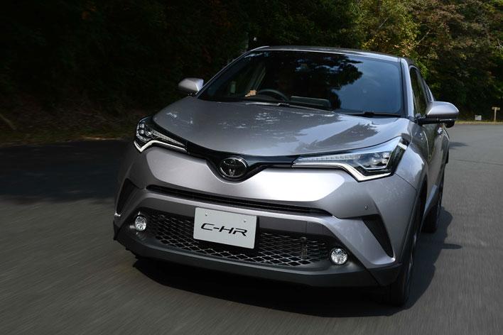 トヨタ 新型C-HR プロトタイプ