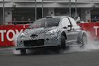 トヨタ、WRC参戦のヤリステストカーを国内初公開