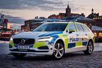 スウェーデン警察、ボルボ新型V90をポリスカーに採用