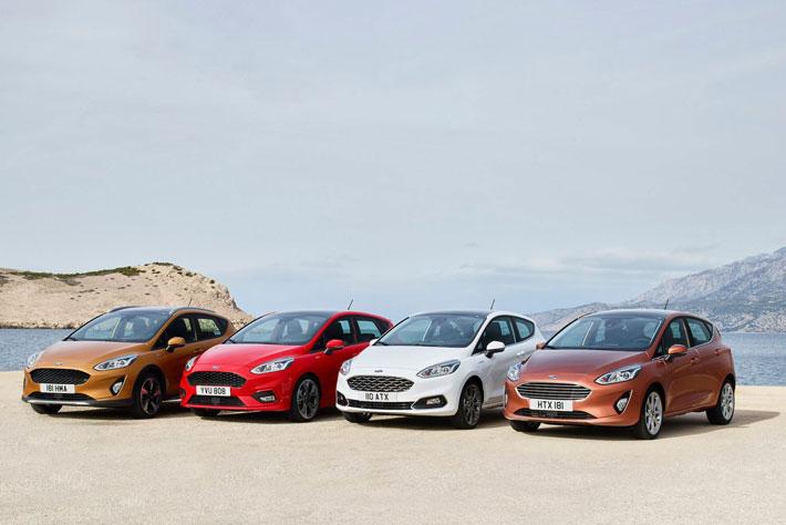 フォード、新型フィエスタを公開!1リッター3気筒モデルに気筒休止機構を搭載!