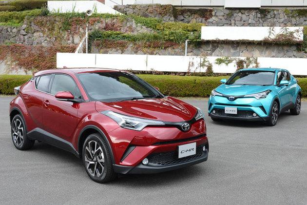 トヨタC-HRとマツダ新型CX-5登場で市場が激化、国産SUVバトル勃発!