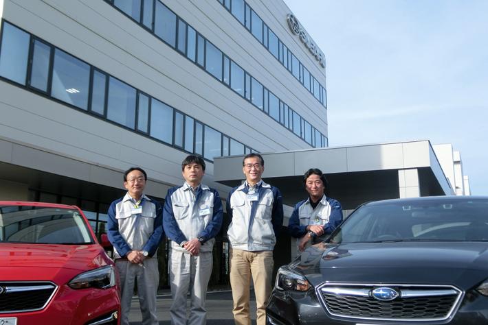 設計品質管理部と車両研究実験総括部(東京事業所)
