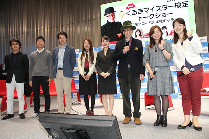 横浜会場でのトークショー