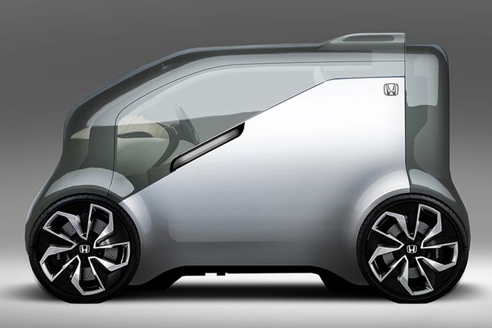 ホンダがCES2017で世界初公開する自動運転車「ニューヴィー (デザインスケッチ)」