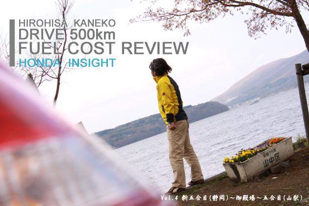 ホンダ インサイト 実燃費レビュー【vol.4 300-400km】