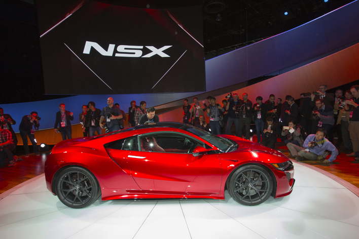 【2015年】Acura新型NSX
