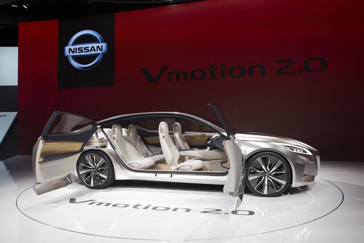 日産 コンセプトカー「Vmotion 2.0」/デトロイトモーターショー2017
