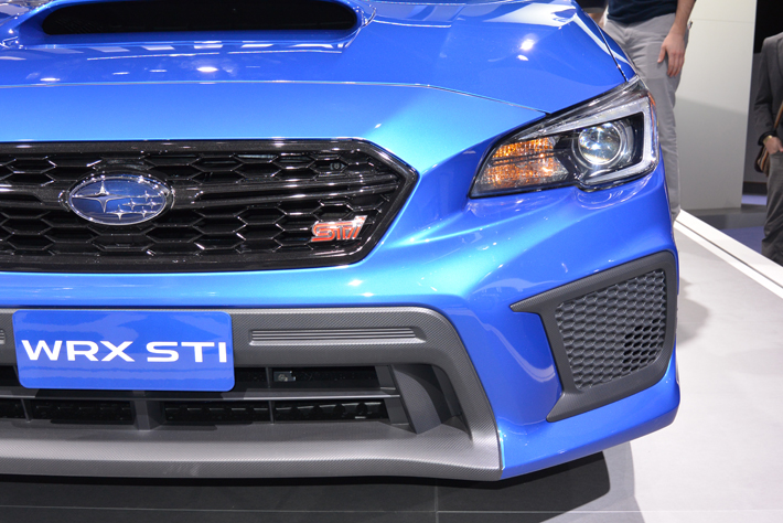 スバル 新型WRX STI(北米仕様車)