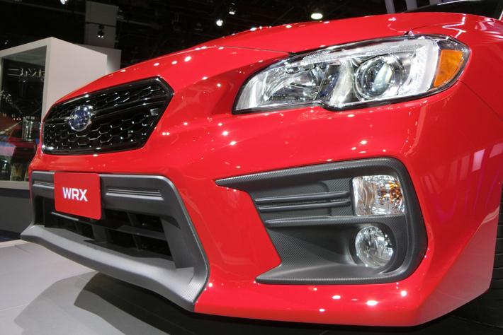 スバル 新型WRX(北米仕様車)