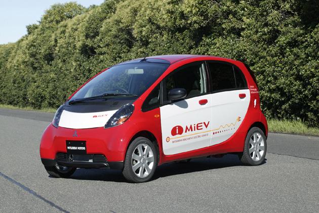 電気自動車 三菱 i-Miev(アイ・ミーブ)フロント