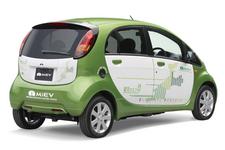 電気自動車 三菱 i-Miev(アイ・ミーブ)リア