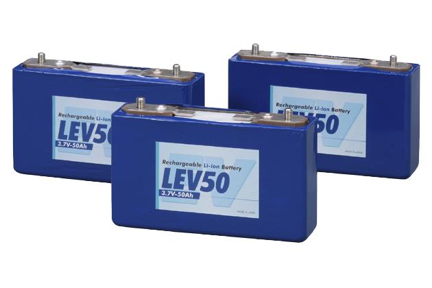 GSユアサ 電気自動車用リチウムイオン電池 LEV50