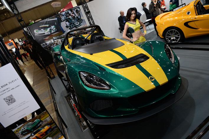 """超軽量890kgの車体で466psを叩き出す!311台限定の""""ロータス・3-イレブン""""東京オートサロン2017で披露"""