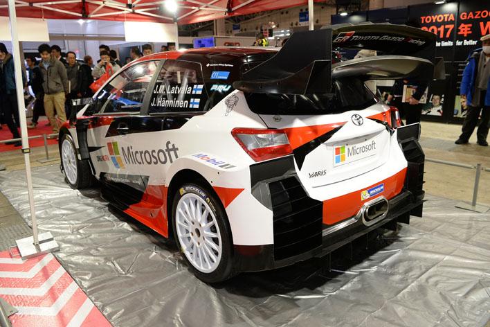 トヨタ ヤリスWRC(日本名:ヴィッツ)[Yaris WRC(FIA World Rally Championship 2017)]