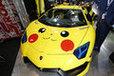 痛っ!高級スーパーカーのランボルギーニをピカチュウ仕様に!?新型NSX黄金Ver.等、カスタムカー特集(その3)【TAS2017】