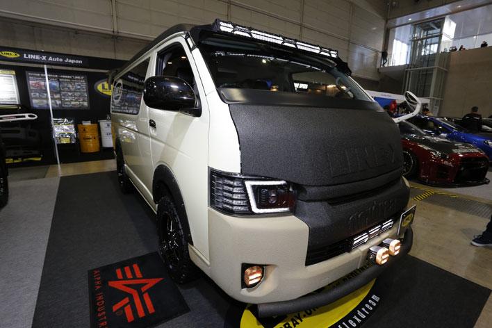 LINE-X Auto Japan ハイエース LINE-X カスタム