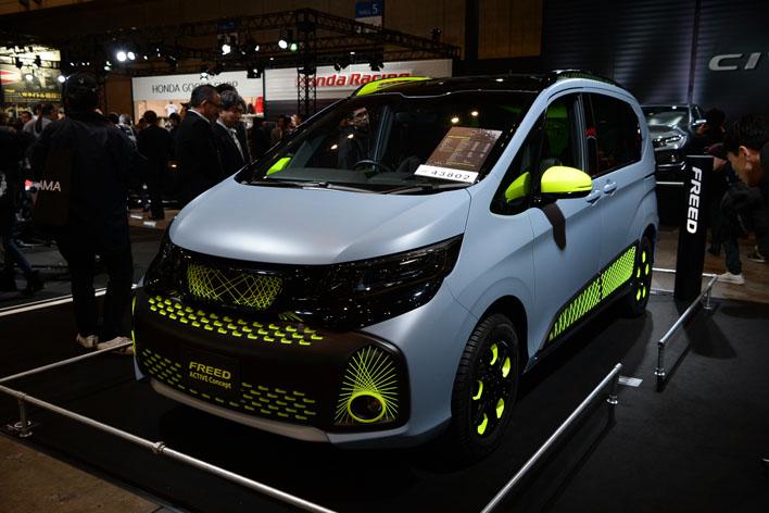 「Honda FREED ACTIVE Concept」(コンセプトモデル)【東京オートサロン2017】