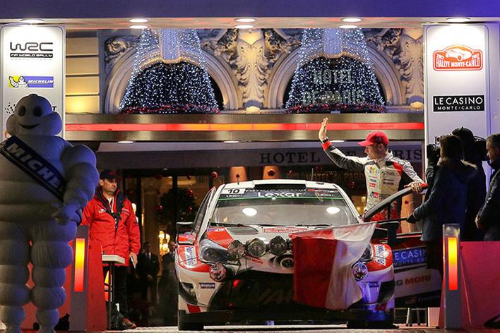 2017年FIA世界ラリー選手権(WRC)開幕戦ラリー・モンテカルロ