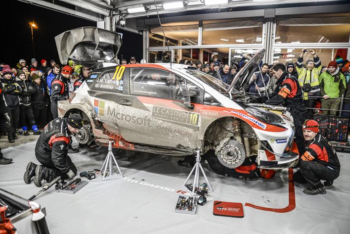 2017年FIA世界ラリー選手権(WRC)開幕戦ラリー・モンテカルロ(デイ2)