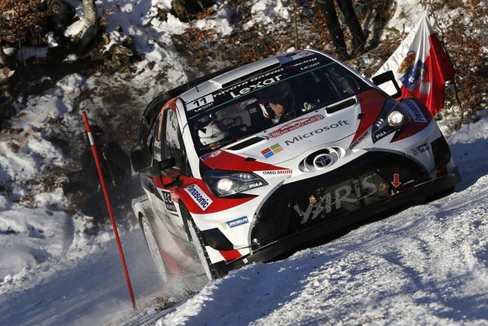2017年FIA世界ラリー選手権(WRC)開幕戦ラリー・モンテカルロ(デイ3)
