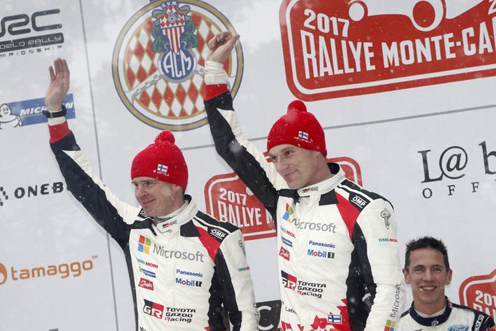 2017年FIA世界ラリー選手権(WRC)開幕戦ラリー・モンテカルロ(デイ4)