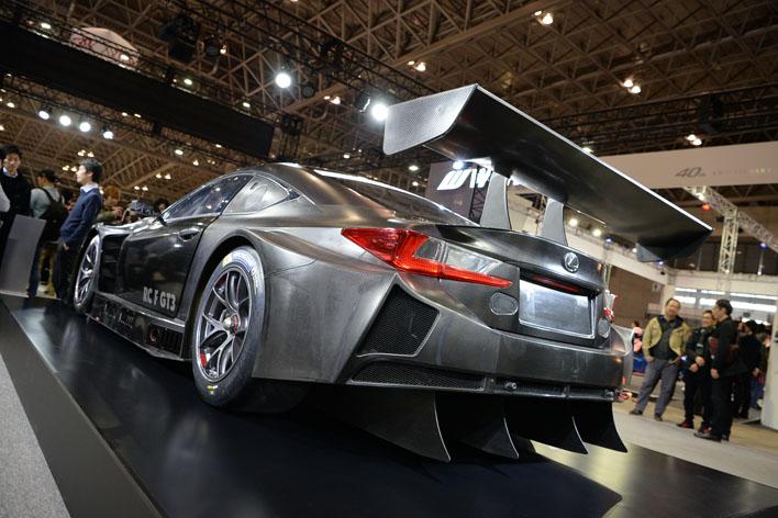 東京オートサロン2017で公開された「LEXUS RC F GT3」