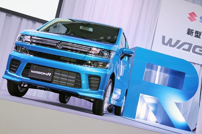スズキ 新型(6代目)ワゴンR、ハイブリッド搭載で33.4km/Lの低燃費を実現
