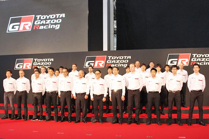 ラトバラ選手がヤリスWRCでお台場を爆走!さらにモリゾウ選手は86でドーナツターンを披露!! ~TOYOTA GAZOO Racing 2017年活動計画発表会~