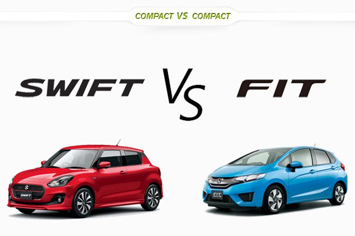 スズキ 新型スイフト vs ホンダ フィット どっちが買い!?徹底比較