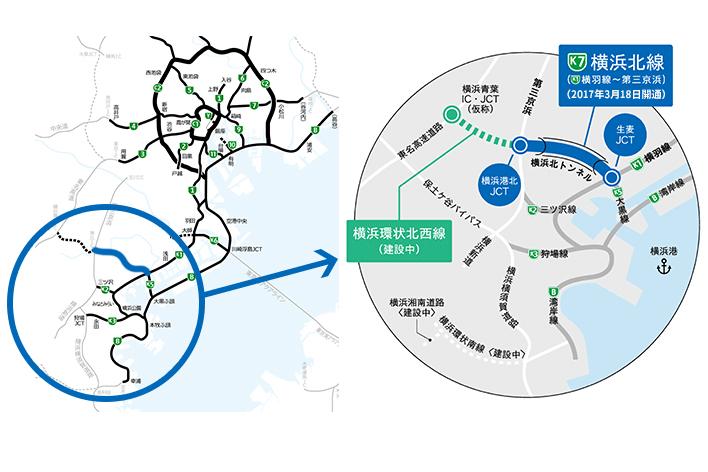 横浜北線(横羽線~第三京浜)