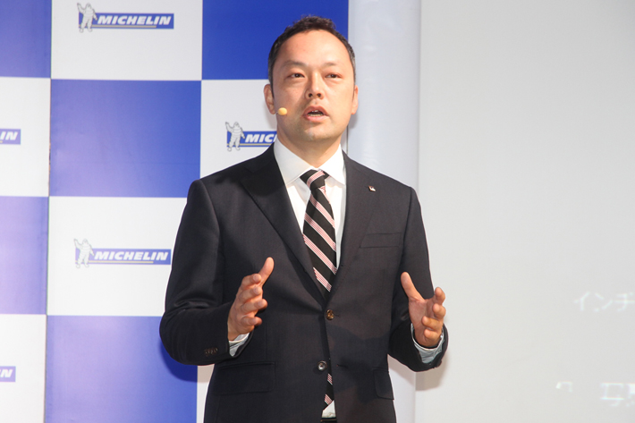 日本ミシュランタイヤ株式会社 PC/LTタイヤ事業部 マーケティング部 ブランド戦略マネージャー 成瀬 朋伸氏