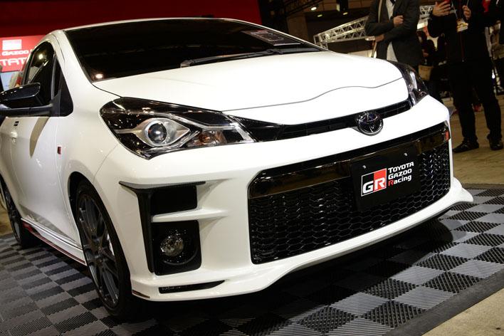 東京オートサロン2017で公開されたトヨタ ヴィッツ TGRコンセプト