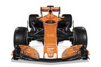 ホンダ、オレンジとブラックのF1新型マシン「MCL32」公開