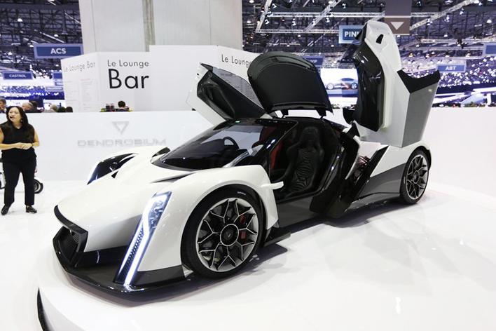 EVスーパーカーコンセプト「デンドロビウム」