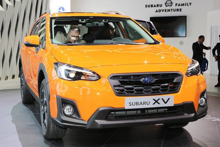スバル新型XV/ジュネーブショー2017